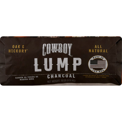 Cowboy® Oak & Hickory Hardwood Lump Charcoal