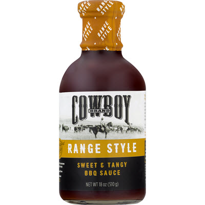 Cowboy® Range Style Sweet & Tangy BBQ Sauce