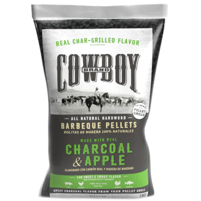 Cowboy® Charcoal & Apple Barbeque Pellets