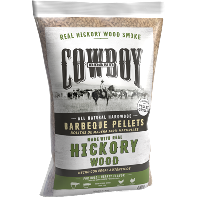 Cowboy® Hickory Barbeque Pellets