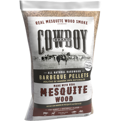 Cowboy® Mesquite Barbeque Pellets